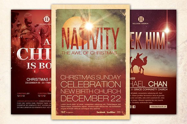 Christmas Church Flyer Bundle