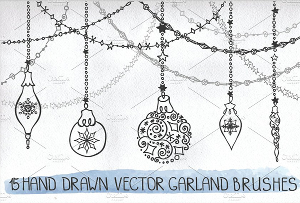 40+ Christmas Photoshop Brushes - Free Photoshop Vector Downloads