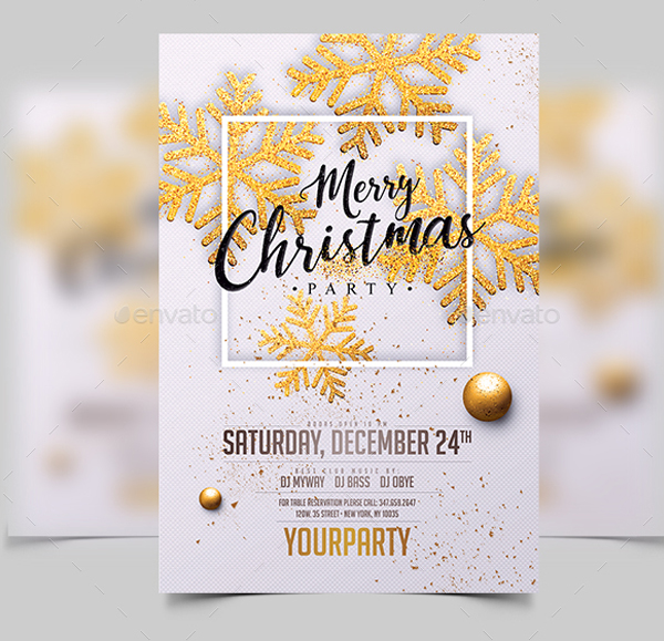 34 christmas party invitation templates free psd vector ai downloads