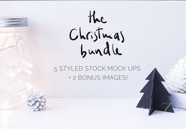 Christmas Mockups Bundle
