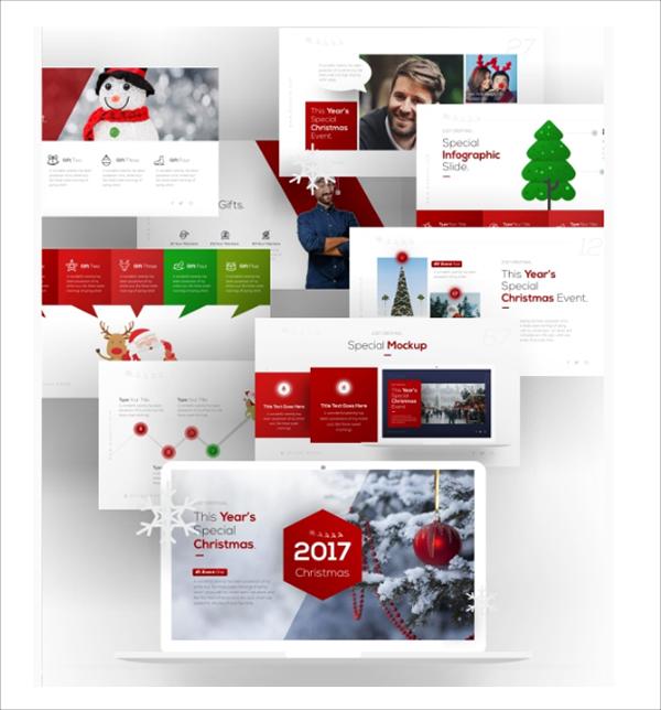 Christmas Multipurpose Presentation Template