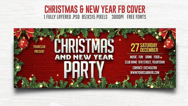 33  best christmas facebook covers