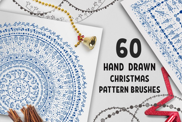 Christmas Pattern Brushes