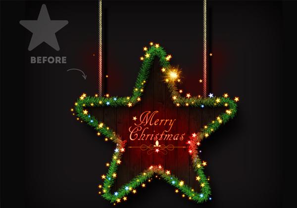 Christmas Tree Photoshop Creator
