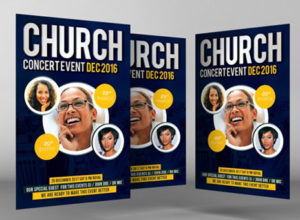 Church Invitation Flyer Templates