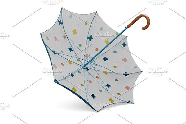 Classic Umbrella Mockup