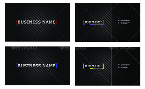 Clean Business Card Designs