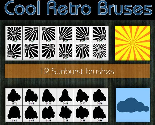 Cool Retro Brushes