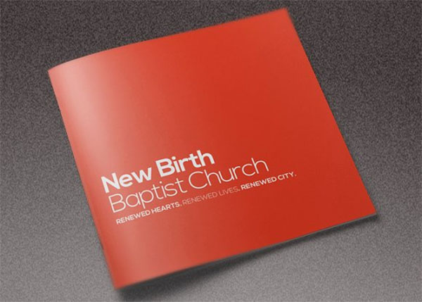 Core Church Event Brochure Template