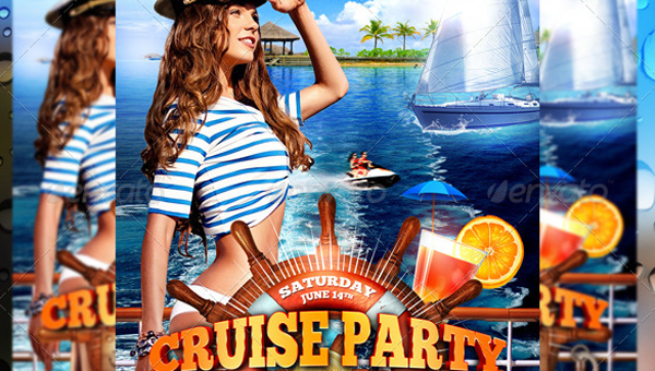 23 cruise flyer templates free psd vector eps png ai downloads