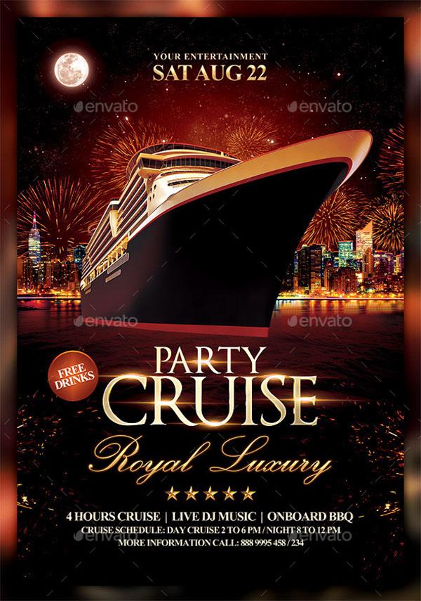 23  cruise flyer templates