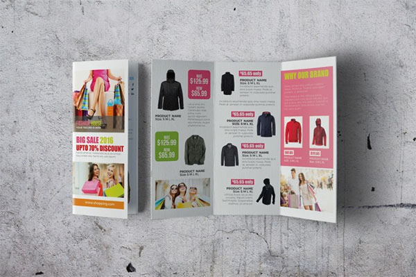 Customizable Marketing Brochure Template
