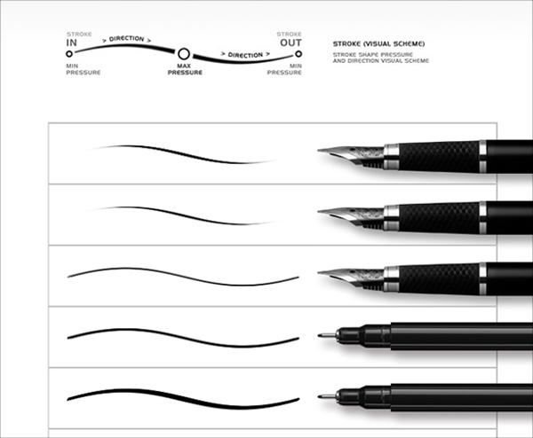 Digi Ink Brushes Template