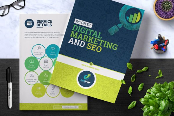 Digital Best Marketing Brochure Templates