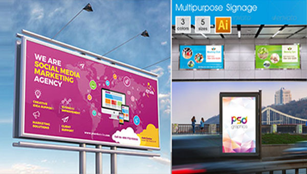 31+ Digital Signage Design Templates - Free PSD illustrator