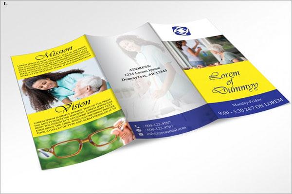 Elegant Home Care Trifold Brochure