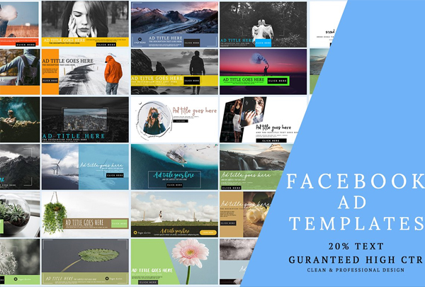 Facebook AD Banner Templates