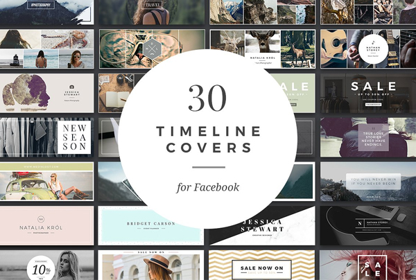 Facebook Timeline and Banner Templates