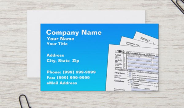 Unique Business Card Design Template
