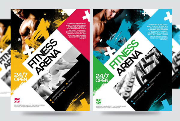 Fitness Arena Flyer Template