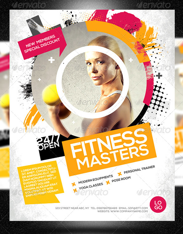 Fitness Masters Flyer