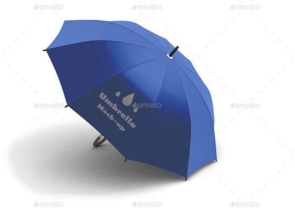 Floral Umbrella Mockup