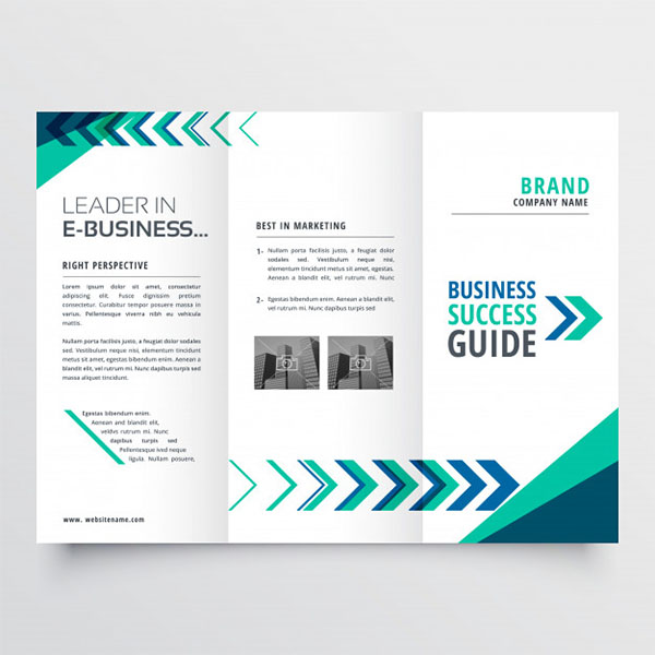 Free Business Tri fold Brochure Template