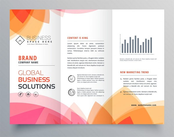 Free Marking Modern Brochure Design