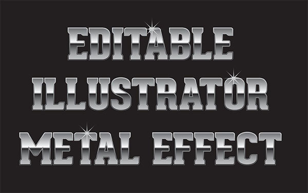 Free Metal Photoshop Text Effect