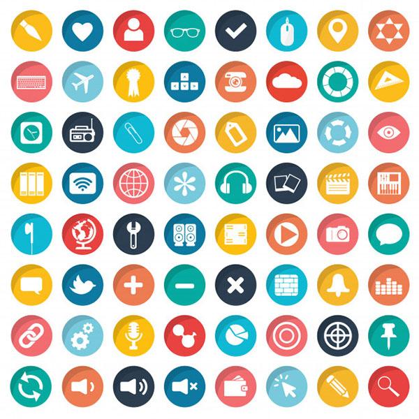 Free Mobiles App Icon Set
