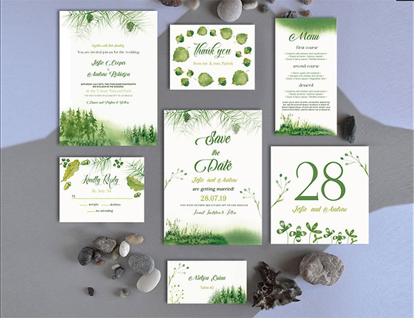Free Amazing Event Wedding Templates