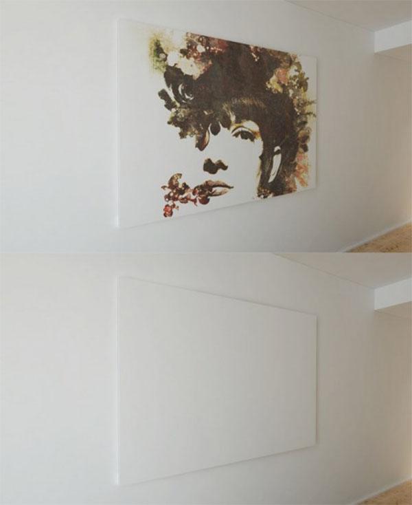 Free PSD Artistic Canvas Mockup