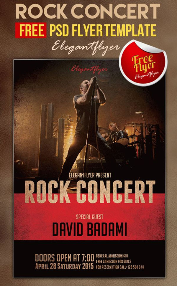 65  concert flyer templates