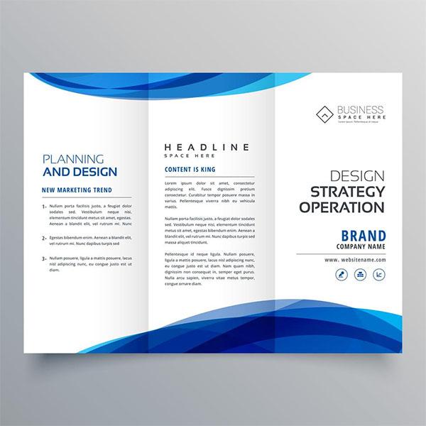 Free Stylish Digital Marketing Business Brochure Template