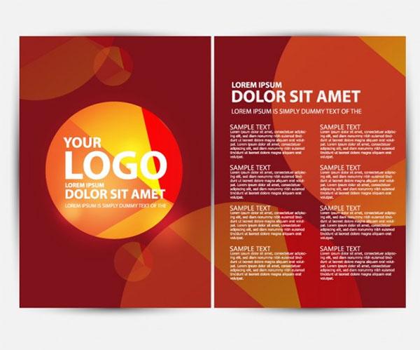 Free Vector Digital Marketing Brochure Template