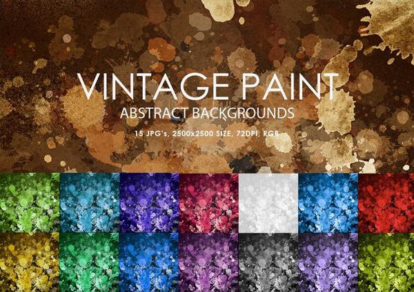 Free Vintage Paint Brushes