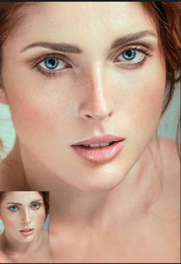 21 Skin Retouch Photoshop Action