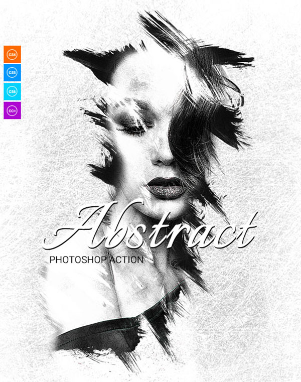 Abstract Photoshop Actions