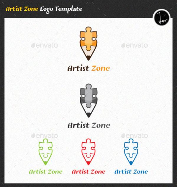 Artist Zone Logo Template
