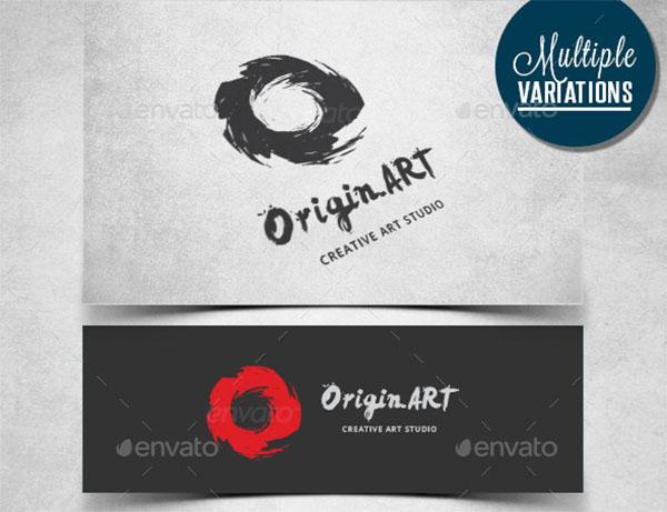 Artistic O Logo Template