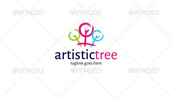 Artistic Tree Logo Template