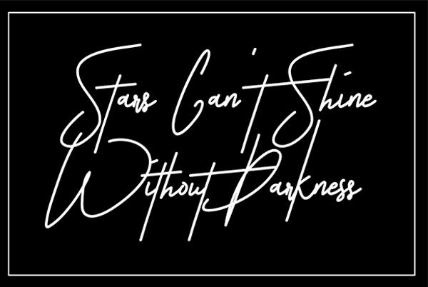 Astronout Signature Cursive Handwriting Font