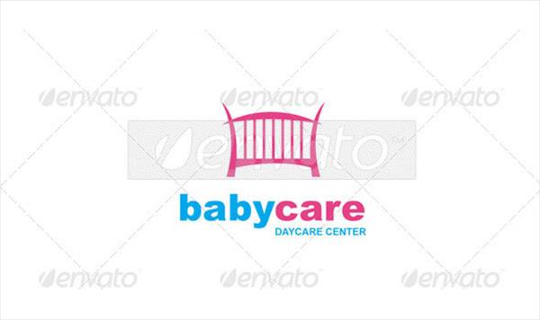 Baby Care Logo Template Design