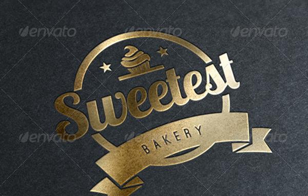 Bakery Cupcakes Logo