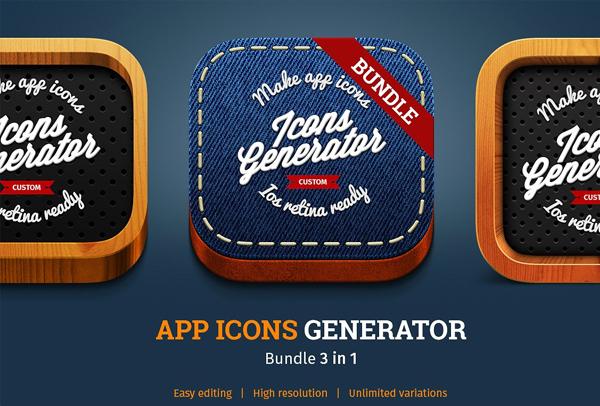 Beautiful App Icons Generator Bundle
