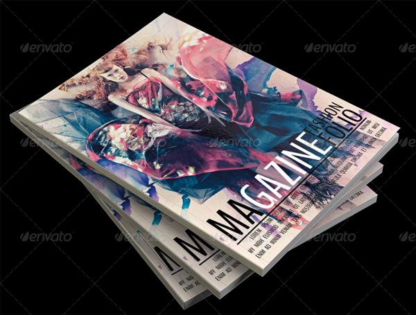 Beautiful ID Fashion Magazine Template