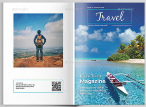 Beautiful Travel Magazine Templates