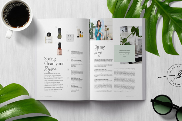 Beautifully Designed Fashion Magazine Template