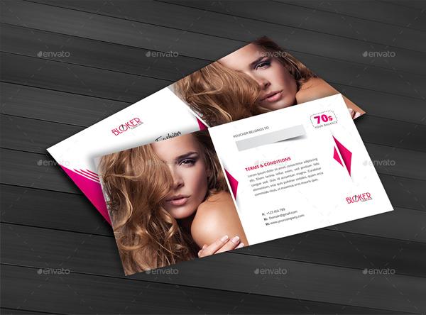 Beauty Fashion Gift Voucher