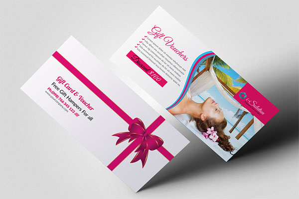 Beauty Spa & Massage Gift Vouchers